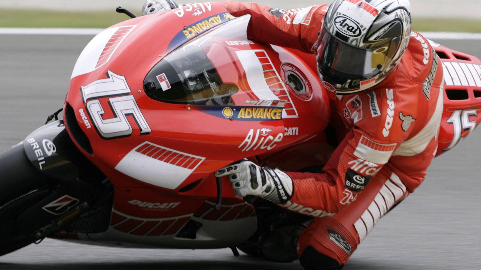 Foto: La de 2006, con Ducati, fue la última temporada completa de Sete Gibernau en MotoGP. (Reuters)