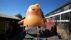 Los británicos se rebelan contra la visita de un Donald Trump poco amistoso