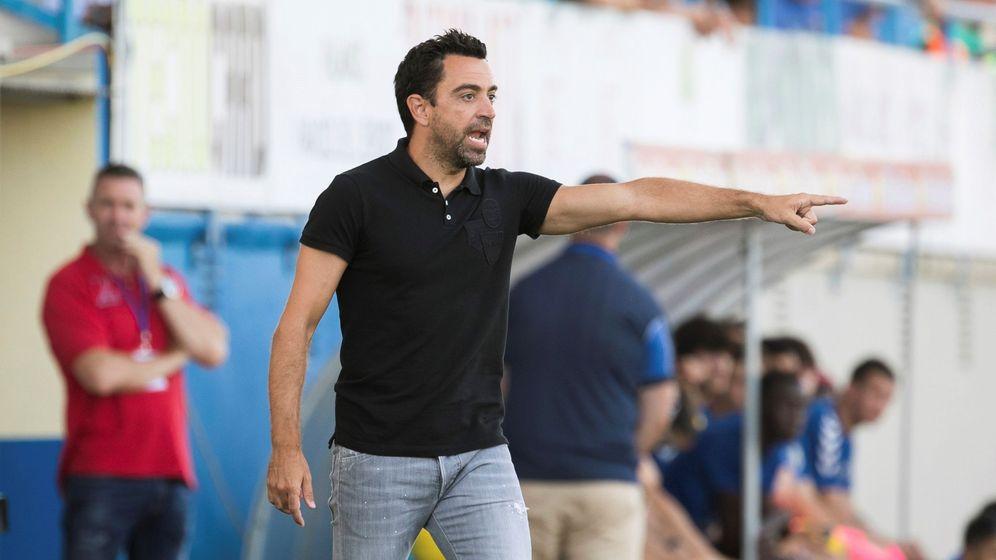 Foto: El exazulgrana Xavi Hernández, es el actual entrenador del equipo catarí Al-Sadd Sports Club. (EFE)