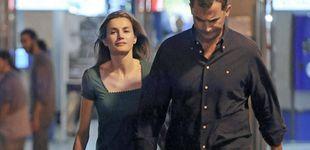 Post de Los Reyes pasan una noche de cine en Madrid después de volver de Mallorca