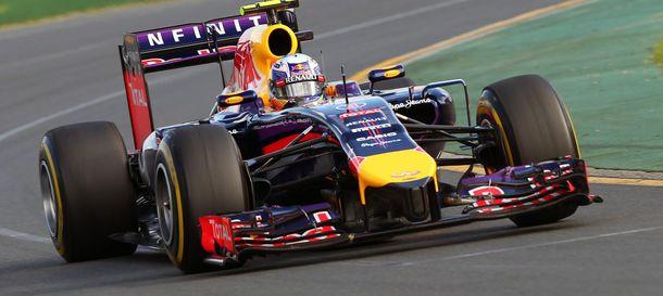 Foto: Daniel Ricciardo durante el pasado GP de Australia.