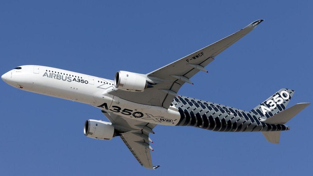 Foto: Un Airbus A350. (Reuters)