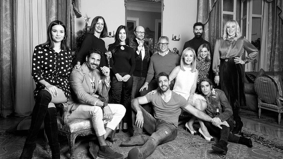 Fotos exclusivas: Carmen Lomana reúne a sus compañeros de 'MasterChef' por Navidad