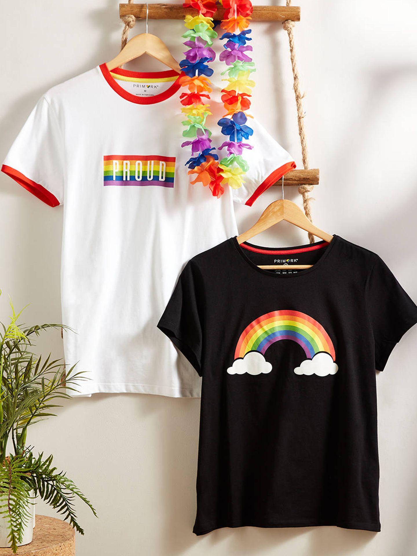 Camisetas de la colección 'Feeling Proud' de Primark.