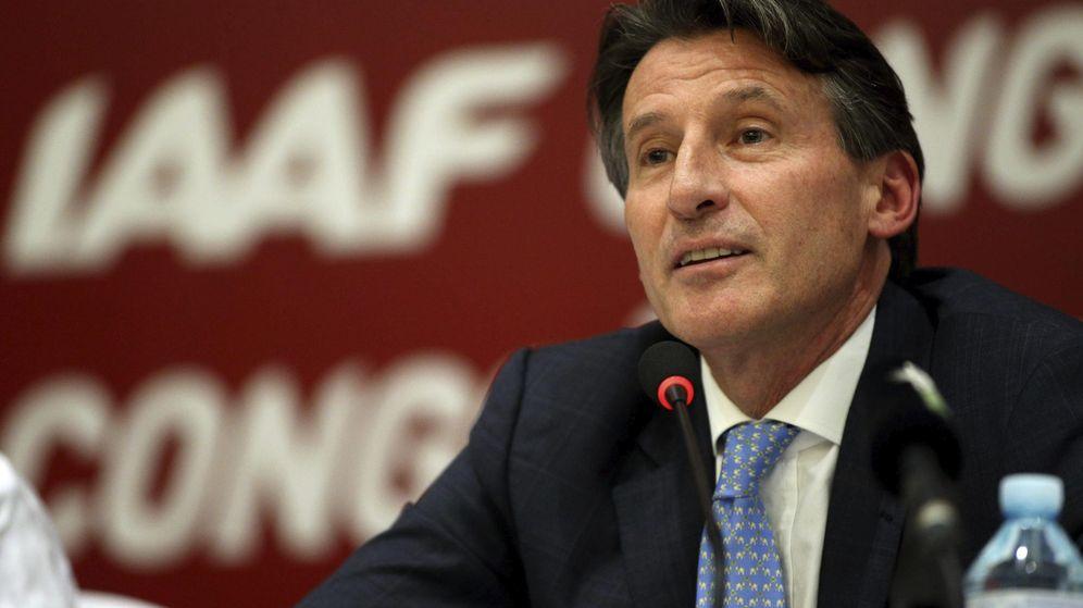Foto: Sebastian Coe, elegido nuevo presidente de la Federación Internacional de Atletismo (Efe).