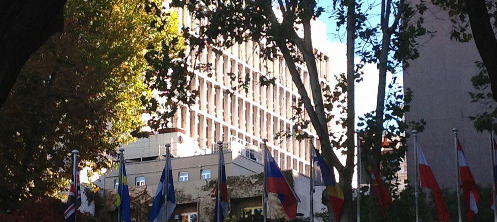 Foto: ¿El domicilio de la CIA? En la 7ª planta de la Embajada de EEUU; en Serrano, 75