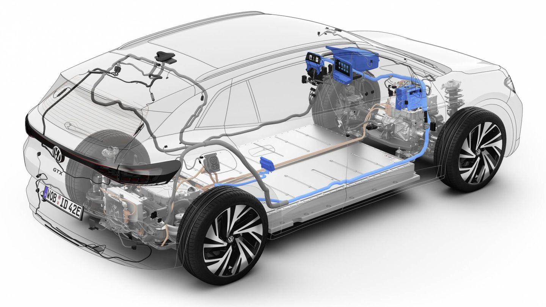 Las actualizaciones pueden centrarse en cualquier sistema del coche, como motor, batería, amortiguación activa, faros, pantallas interiores, etc.