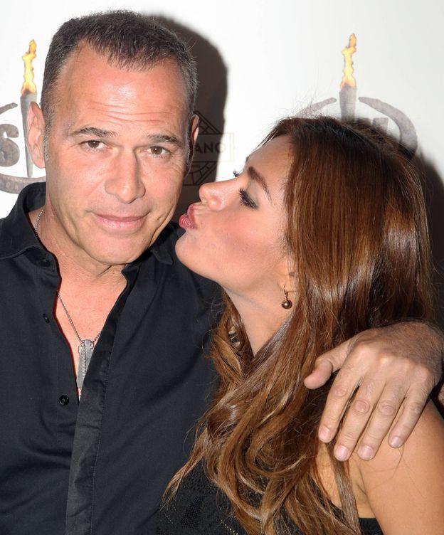 Foto: Carlos Lozano y su novia Miriam Saavedra. (Gtres)