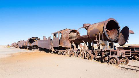 El insólito cementerio de trenes abandonados de Bolivia