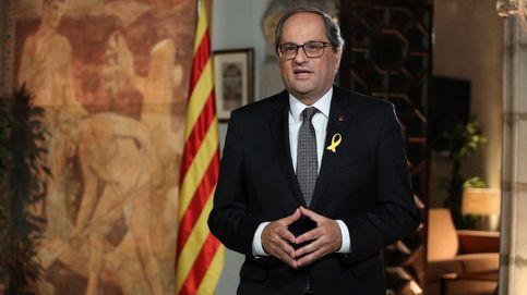 Torra pide un combate democrático hasta llegar a la república