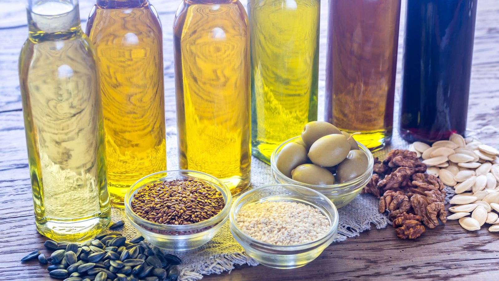 Guía del aceite de cocina
