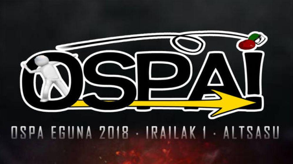 Foto: Cartel del 'Ospa Eguna' de 2018. (EFE)