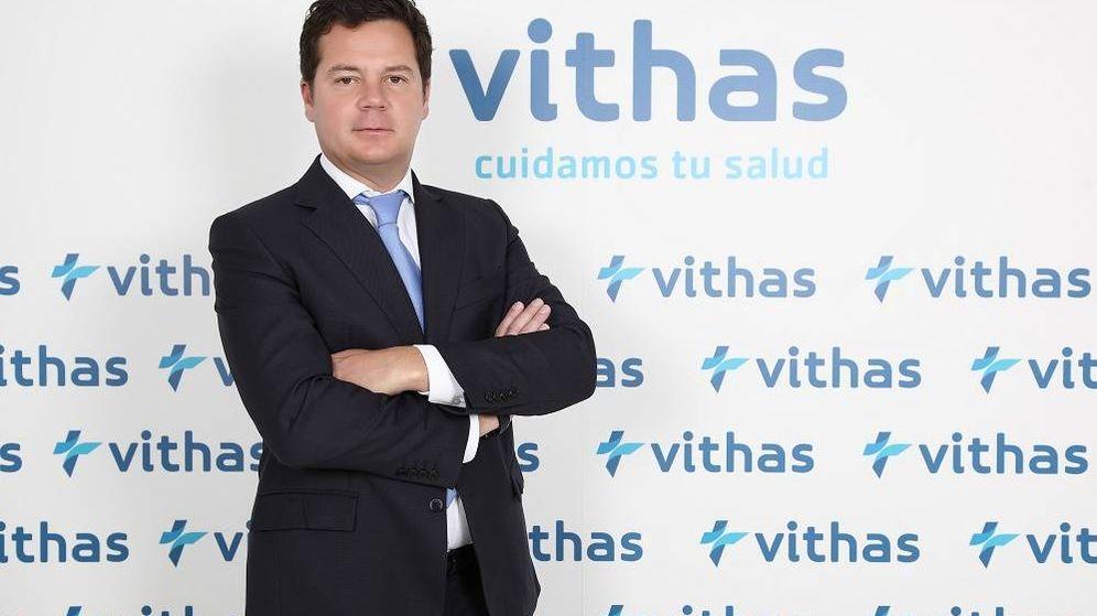 Foto: El presidente de Vithas, Jorge Gallardo.