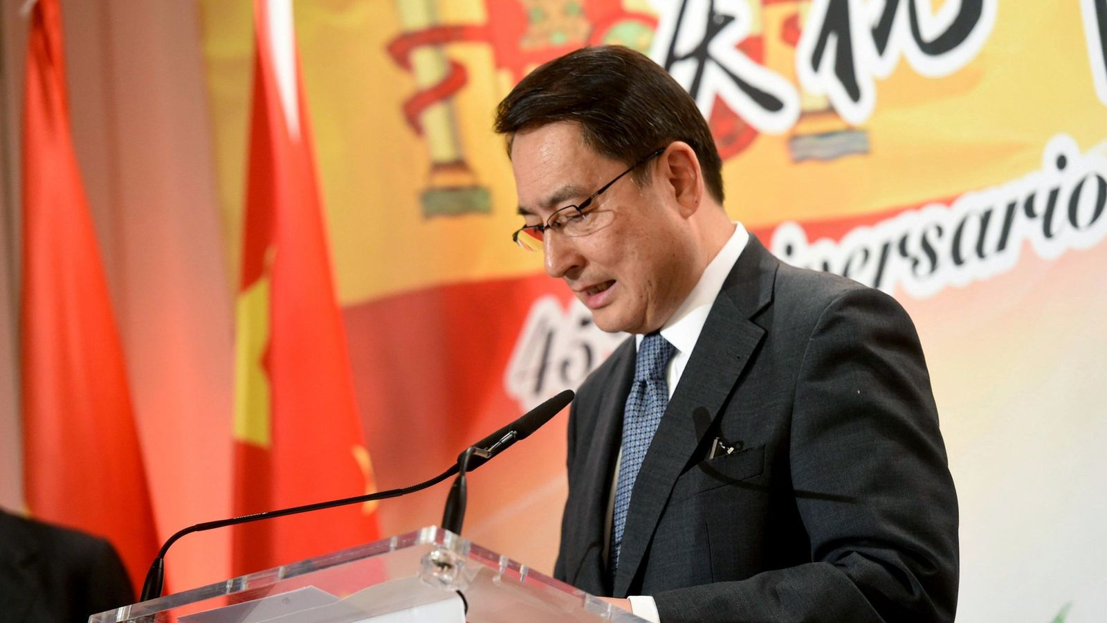 Foto: El embajador de China en España Lyu Fan. (EFE)