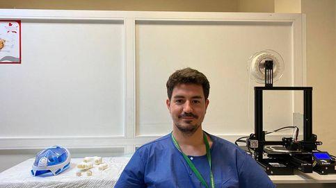 Este otorrino granadino modifica máscaras de buceo para luchar contra el coronavirus