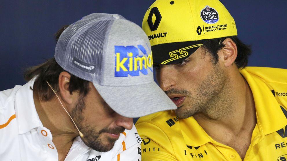 El día en que el cabrón Alonso le recordó a Sainz por qué debe brillar en España