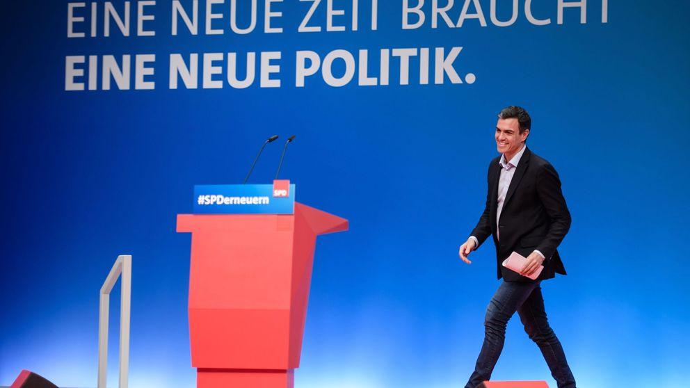Sánchez, en Alemania: el secesionismo es una amenaza al proyecto europeo