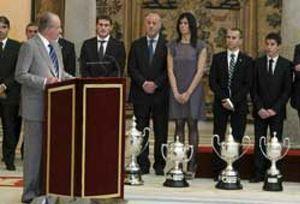 """Don Juan Carlos: """"El 2010 ha sido, sin duda, el año más brillante del deporte español"""""""