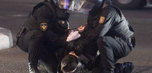 Post de Más de 145 detenidos en las protestas contra la investidura