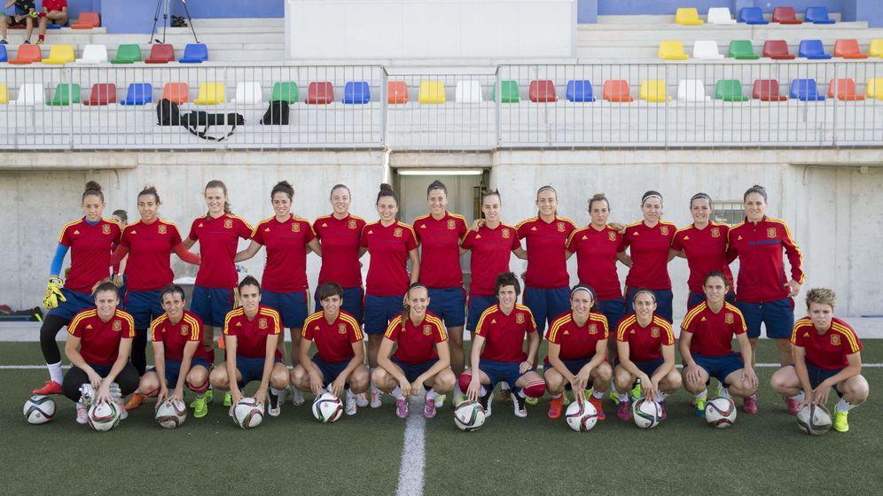 Foto: La selección española femenina acude por primera vez a un Mundial (Efe)