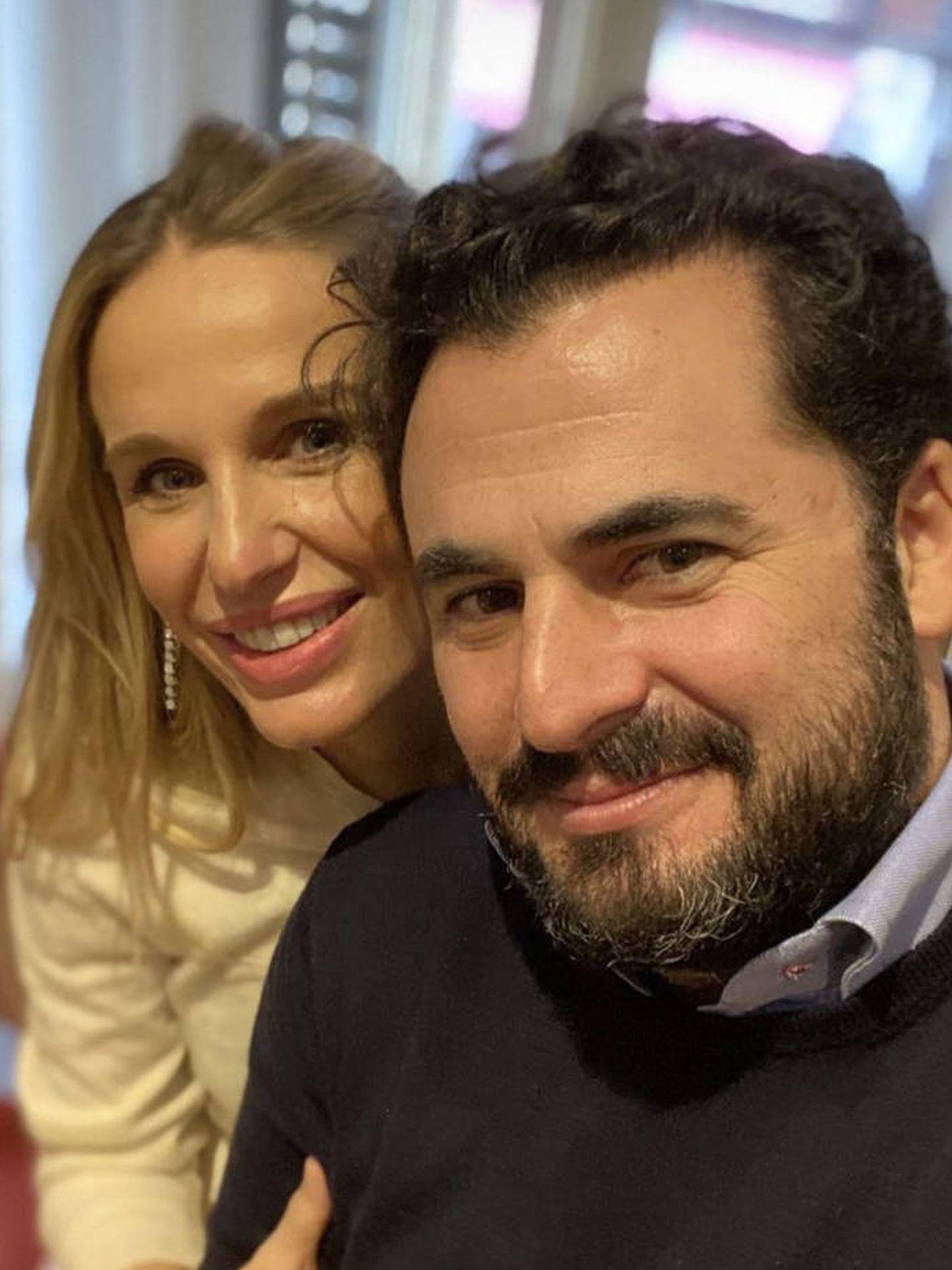 Emiliano Suárez y Carola Baleztena. (Instagram)