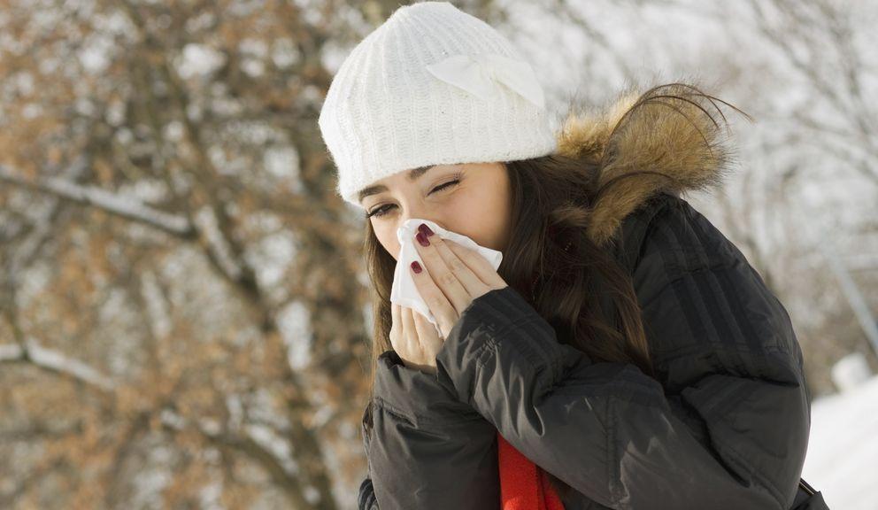 Foto: La alimentación puede protegerte de los constipados invernales. (iStock)