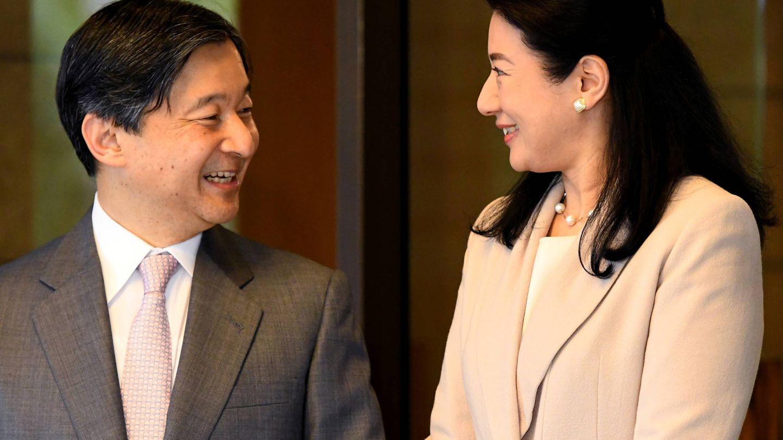 Naruhito y Masako. (Reuters)
