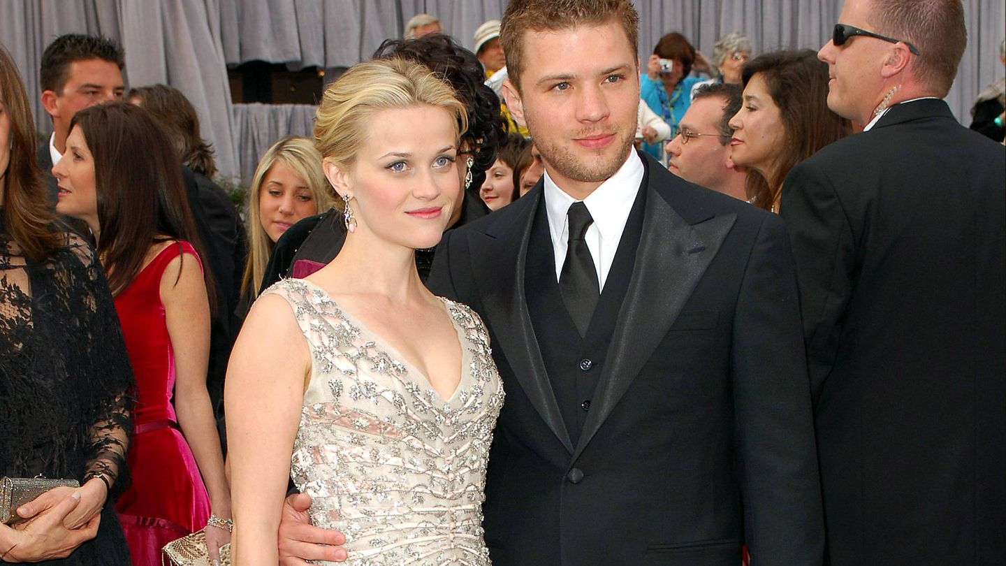 Reese Witherspoon y Ryan Phillippe.(Gtres)