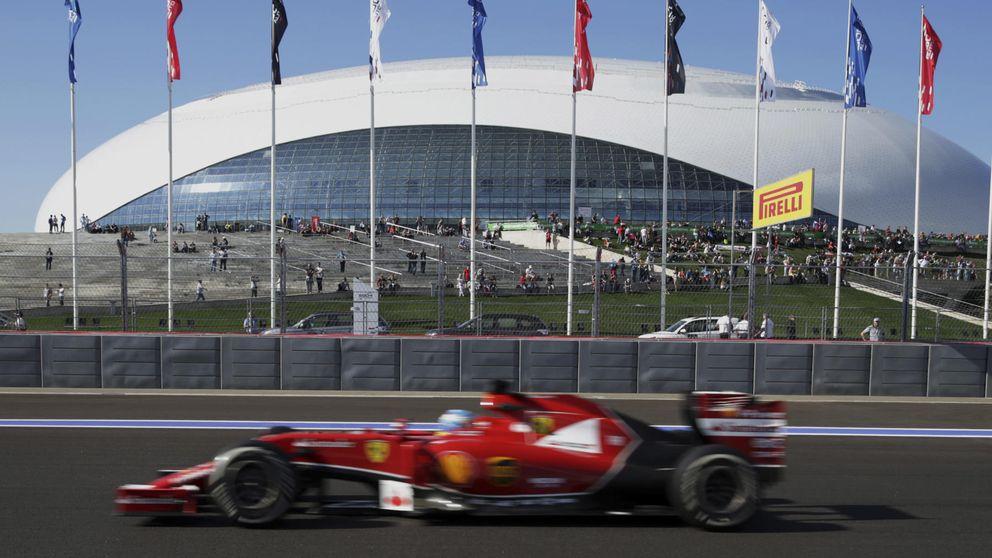 Los pilotos levantan el pulgar para aprobar el nuevo circuito de Sochi
