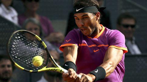 Nadal pasa a tercera ronda en Roma por una lesión en la rodilla de Almagro