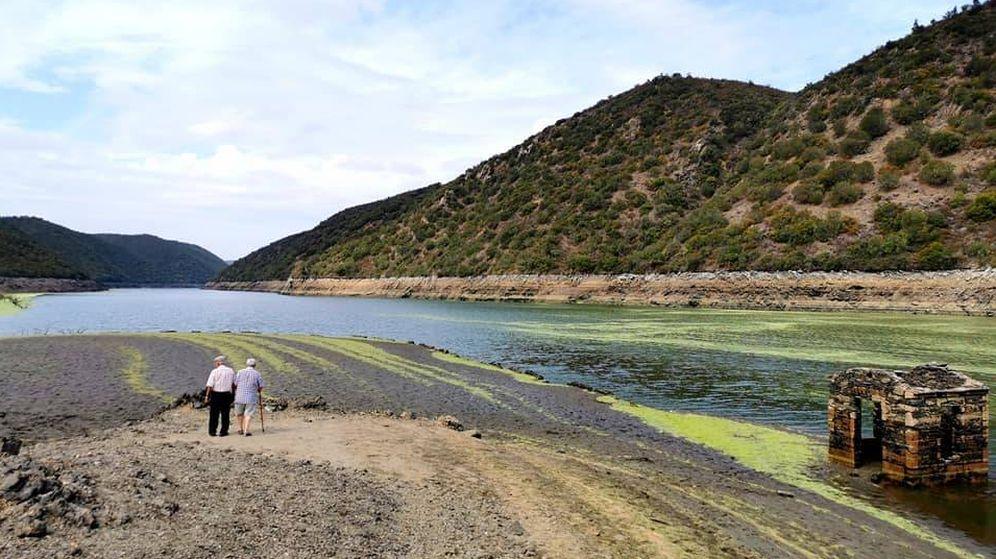 Foto: Imagen reciente del río Tajo en su cuenca portuguesa. (Marco Antonio)
