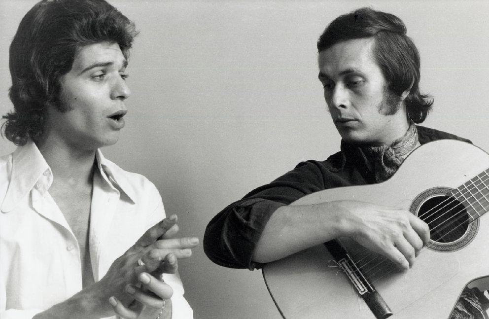 Foto: Camarón de la Isla y Paco de Lucía, en una imagen de archivo (Youtube)