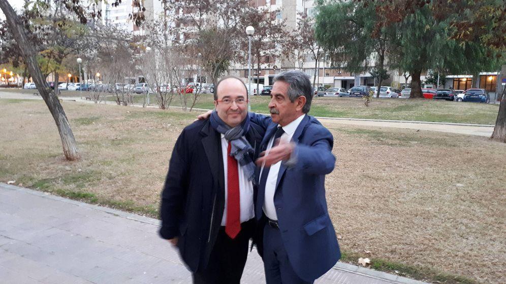 Foto: Miquel Iceta y Miguel Ángel Revilla. (R.M.)