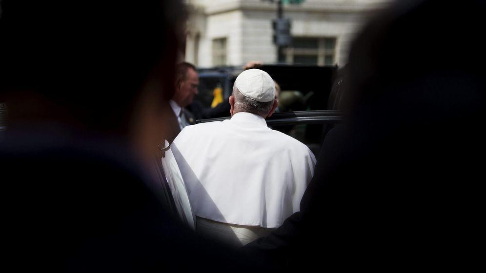 Foto: El papa Francisco, a su llegada a la archidiócesis de Washington, el pasado 24 de septiembre. (EFE)