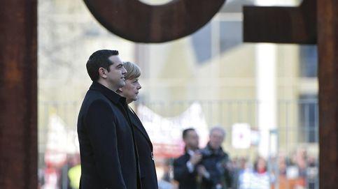 Tsipras frente a Merkel: buenas palabras y un abismo insalvable