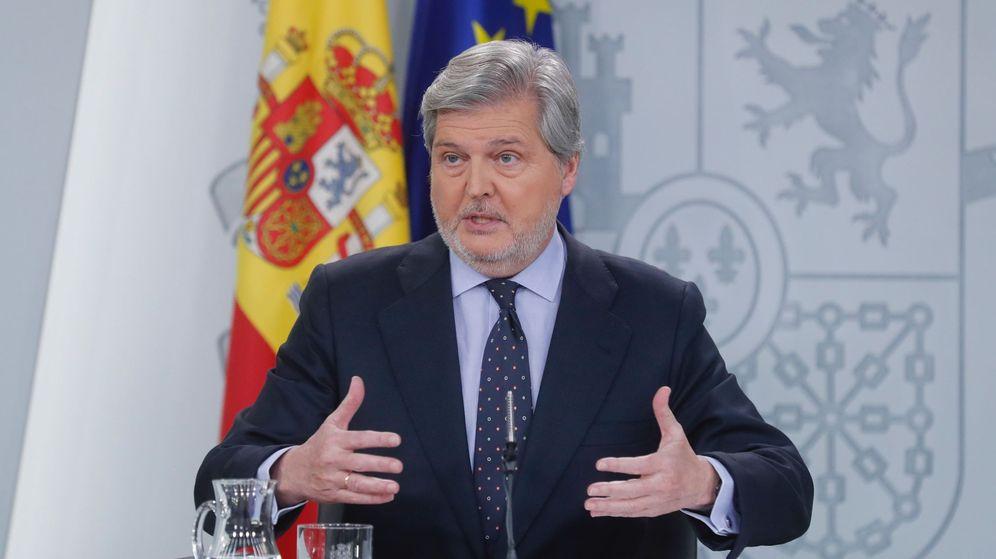 Foto: El portavoz del Gobierno y ministro de Educación, Cultura y Deporte, Íñigo Méndez de Vigo. (EFE)