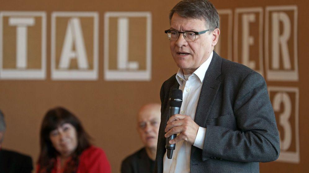 Foto: El presidente de REd Eléctrica Jordi Sevilla. (EFE)