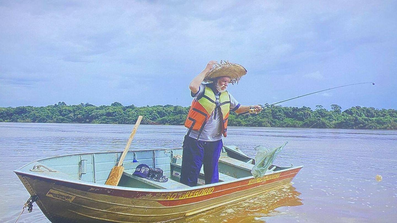Élio, pescador afectado por las hidráulicas   Marilene Ribeiro