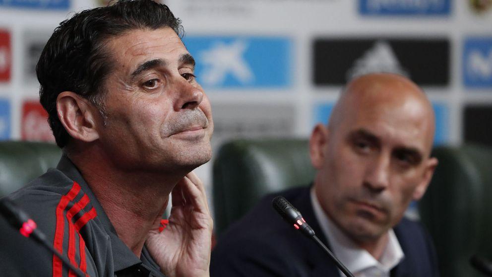 Lopetegui deja muy triste la Selección y Marchena, 'fichaje' de Fernando Hierro