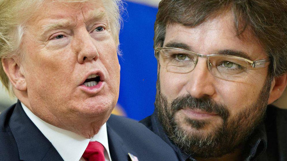 Foto: Donald Trump y Jordi Évole. (El Confidencial).