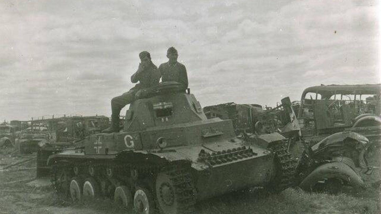 Soldados de la Guderian Panzergruppe