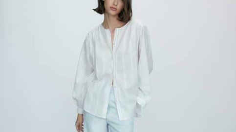 No es una fantasía, la blusa de plumeti de Massimo Dutti más ideal es real y te espera