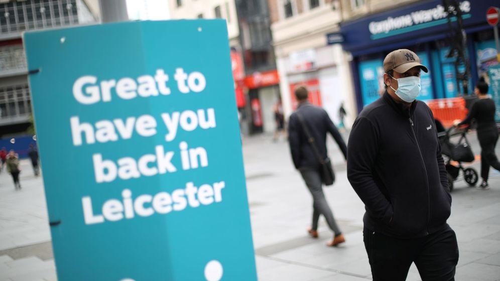 Foto: Una de las calles de Leicester. (Reuters)