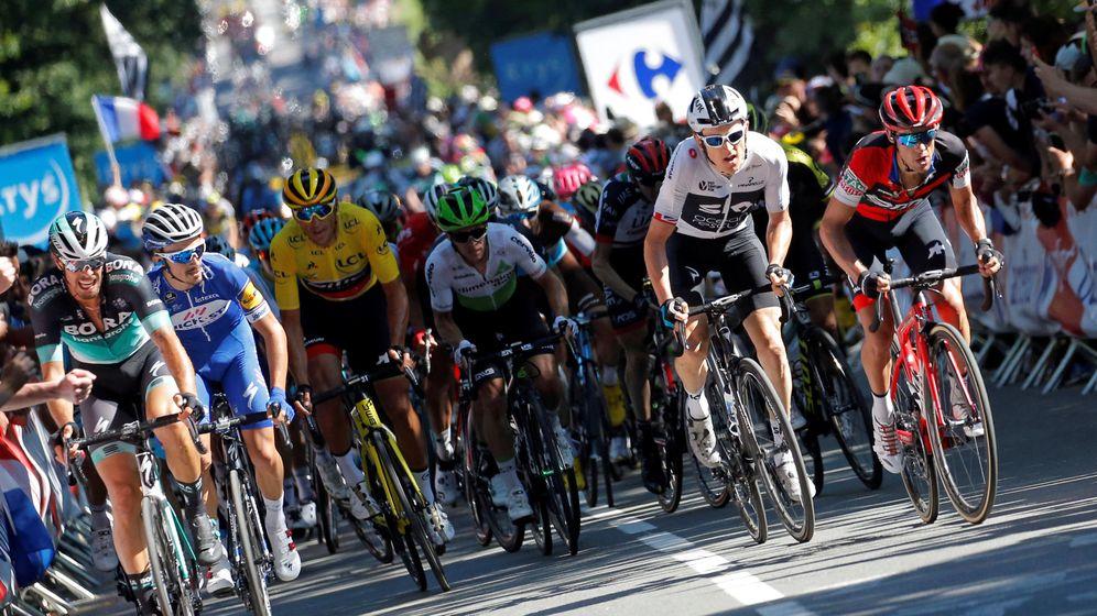 Foto: Final de una etapa del Tour de Francia 2018 | Reuters