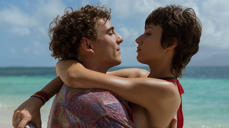 Río (Miguel Herrán) y Tokyo (Úrsula Corberó) en la tercera temporada de 'La casa de papel'. (Netflix)