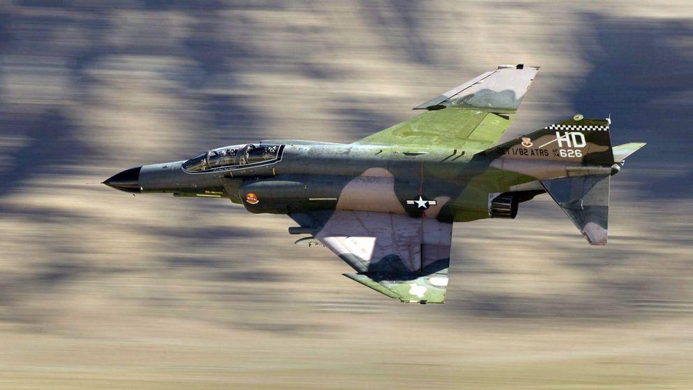 Fin de una era: adiós al F-4 Phantom, el caza que dominó la Guerra Fría