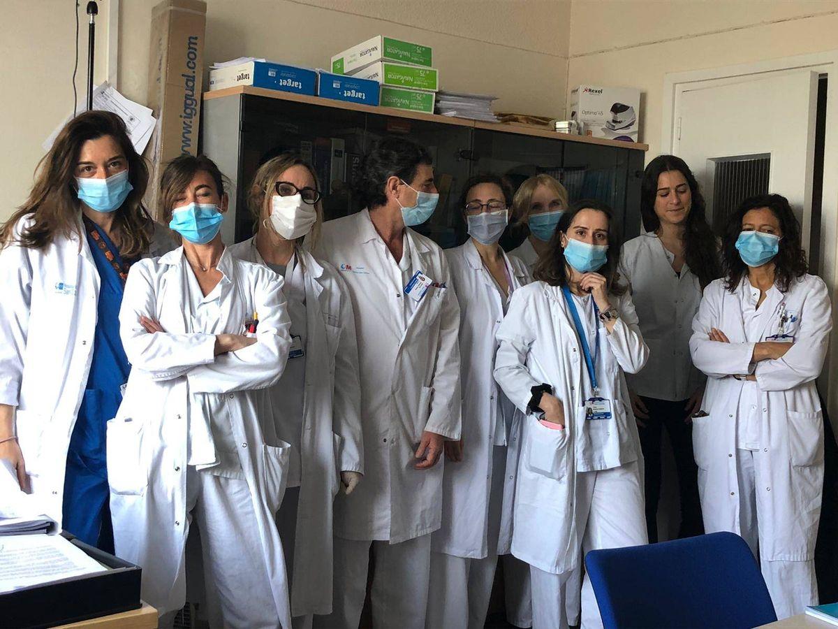 Foto: Equipo de psiaquitría y psicología del Clínico