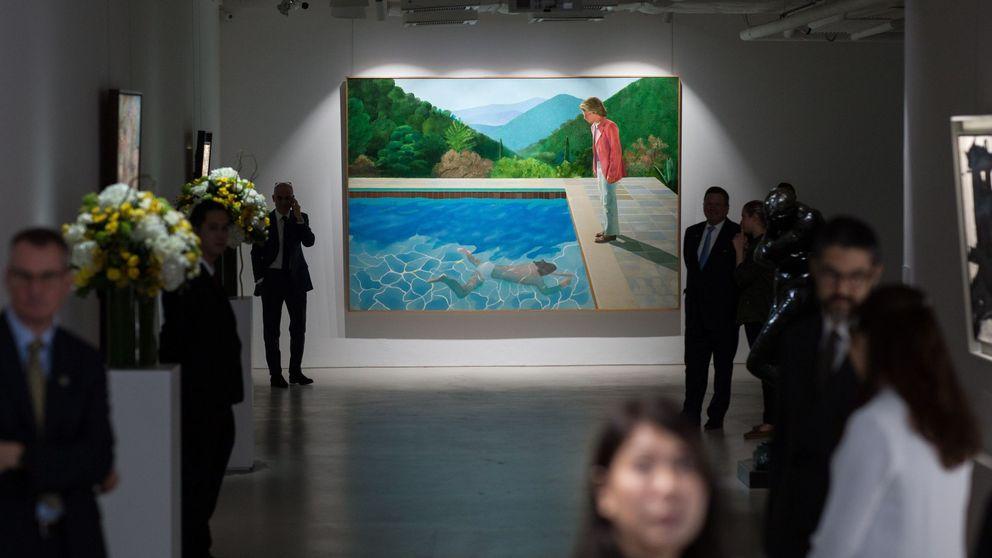 Un cuadro de récord: subastan la obra más cara de un artista vivo por 80 millones