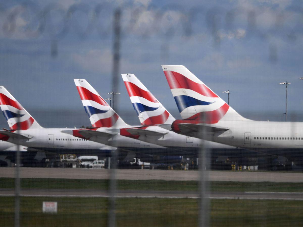 Foto: Aviones de British Airways
