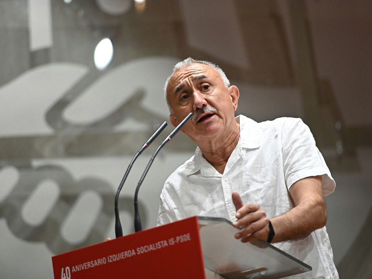Foto: El secretario general de UGT, José María Álvarez. (EFE)